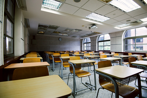 Lecture Hall「Empty classroom or lecture hall」:スマホ壁紙(8)