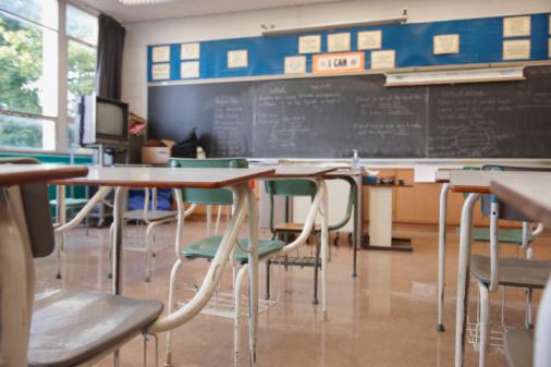 North America「Empty Classroom」:スマホ壁紙(8)