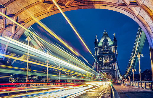 London Bridge - England「Tower Bridge at dusk, London, UK」:スマホ壁紙(10)