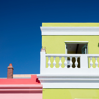 Malay Quarter「Colourful buildings in Bo-Kaap, South Africa」:スマホ壁紙(16)