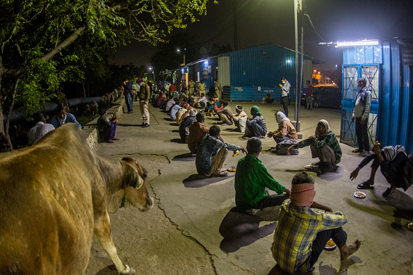 Homelessness「India Imposes Nationwide Lockdown To Contain The Coronavirus Pandemic」:写真・画像(1)[壁紙.com]