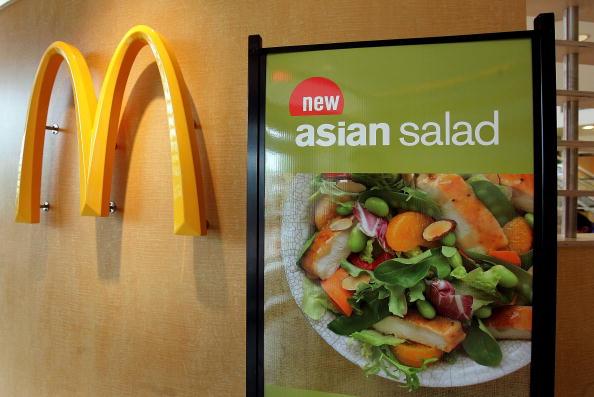 Salad「McDonalds Begins Selling Fitness Videos」:写真・画像(3)[壁紙.com]