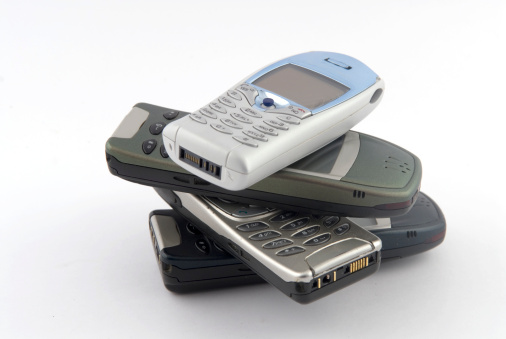Mobile Phone「Old Cell Phones」:スマホ壁紙(4)