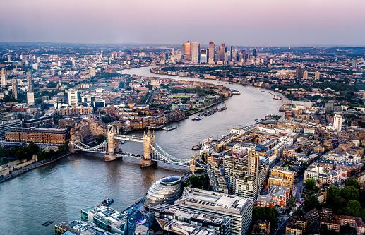 London Bridge - England「London skyline」:スマホ壁紙(6)