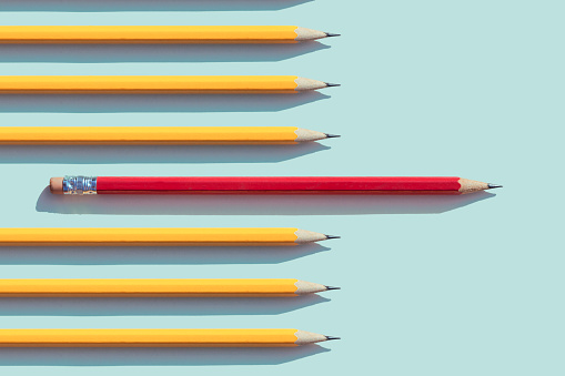Pencil「yellow and red  pencils」:スマホ壁紙(19)