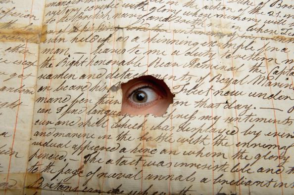 Writing「Letter For Auction Describing British triumph At Trafalgar」:写真・画像(4)[壁紙.com]