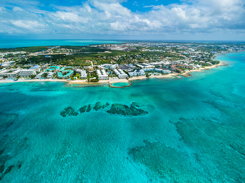 Central America「Caribbean, Cayman Islands, George Town, Luxury resorts and Seven Mile Beach」:スマホ壁紙(15)