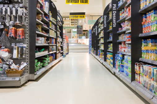 Shelf「Supermarket aisle」:スマホ壁紙(16)