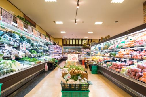 Fruit「Supermarket aisle」:スマホ壁紙(2)