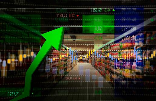 Inflation「Supermarket Shopping Rise」:スマホ壁紙(2)