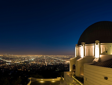City Of Los Angeles「LA cityscape and observatory」:スマホ壁紙(15)