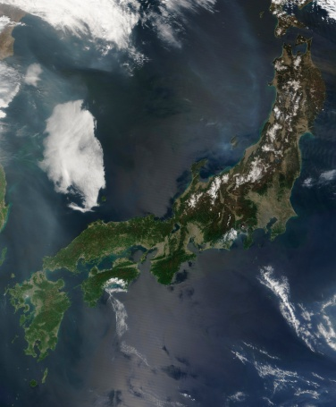 """Satellite View「""""Japan, satellite image""""」:スマホ壁紙(15)"""