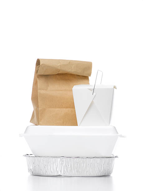 Stacked take-out containers:スマホ壁紙(壁紙.com)