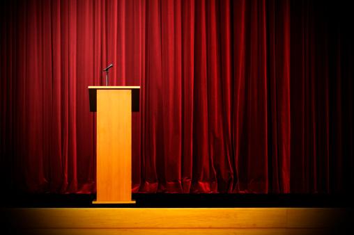 Convention Center「Podium on Empty Stage」:スマホ壁紙(19)