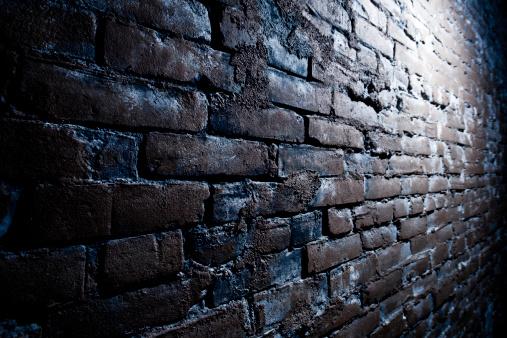 Alley「Grungy Brick Wall」:スマホ壁紙(17)