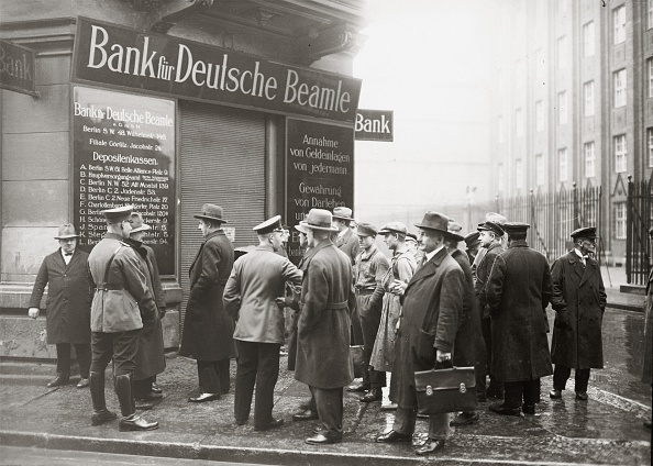 Crisis「Bankruptcy of German Civil Servant Bank」:写真・画像(1)[壁紙.com]