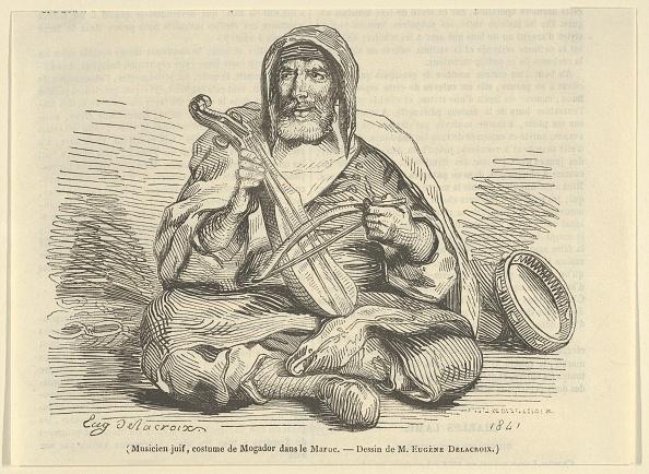 Musical instrument「Jewish Musician In Mogador Costume」:写真・画像(13)[壁紙.com]