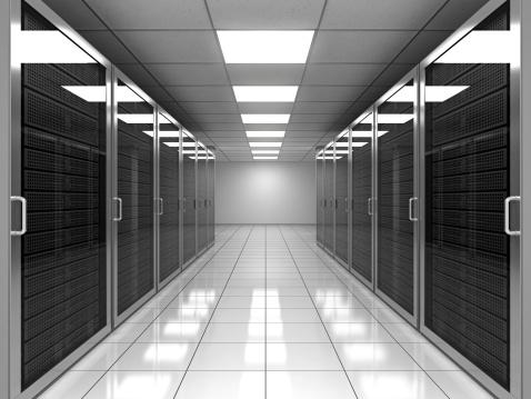 Data Center「Network Server Room」:スマホ壁紙(5)