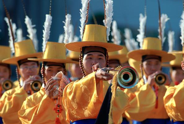 Musical instrument「Ceremonial Guard, South Korea」:写真・画像(16)[壁紙.com]