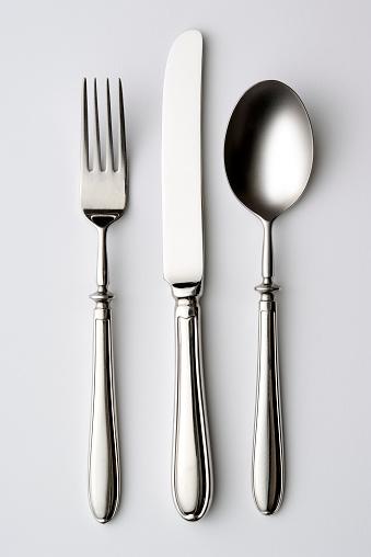 Silverware「Isolated shot of silverware on white background」:スマホ壁紙(8)