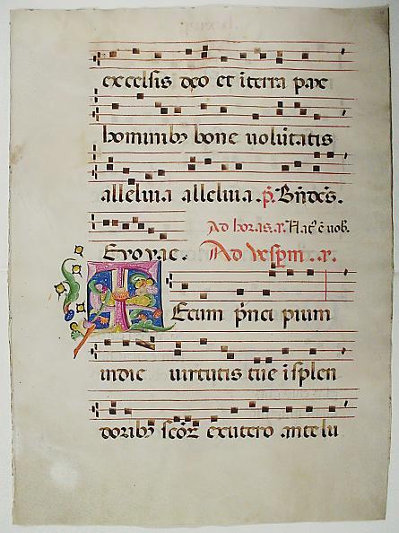 T 「Manuscript Leaf With Initial T」:写真・画像(9)[壁紙.com]