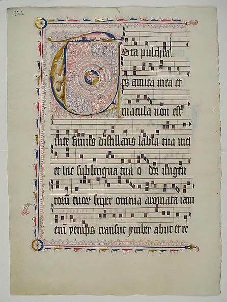 T 「Manuscript Leaf With Initial T」:写真・画像(7)[壁紙.com]