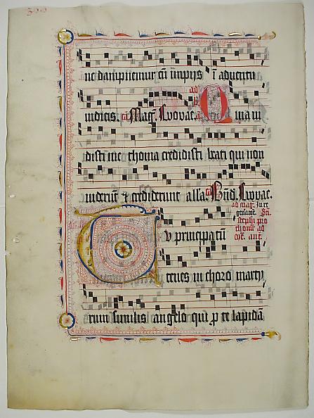T 「Manuscript Leaf With Initial T」:写真・画像(4)[壁紙.com]