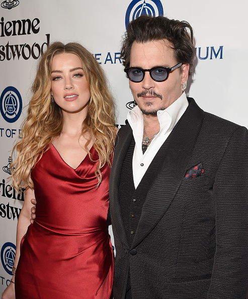 Amber Heard「The Art of Elysium Presents Their 9th Annual Heaven by Visionaries Vivienne Westwood & Andreas Kronthaler - Red Carpet」:写真・画像(4)[壁紙.com]