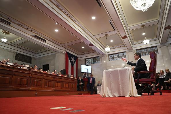 Blank「Puerto Rico Prepares For Leadership Change As Embattled Gov. Rossello Resigns」:写真・画像(8)[壁紙.com]