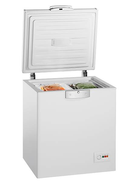 Deep Freezer (isolated with clipping path over white background):スマホ壁紙(壁紙.com)