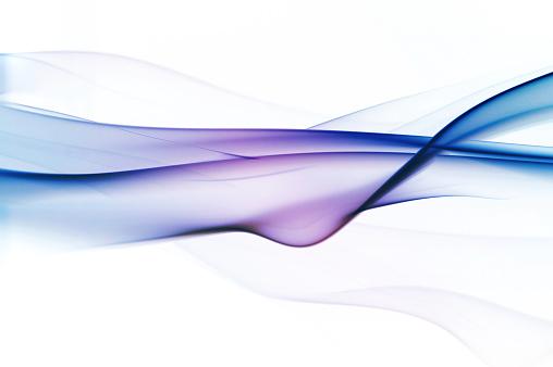 Layered「Graduated silky smoke from blue to purple」:スマホ壁紙(12)