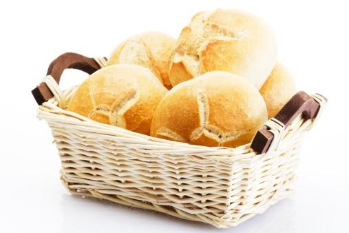 Bun - Bread「Bread rolls in basket」:スマホ壁紙(4)