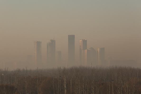 Air Pollution「Beijing Is Enveloped In Smog」:写真・画像(13)[壁紙.com]