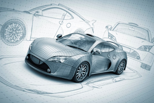 Driving「sketch supercar」:スマホ壁紙(15)