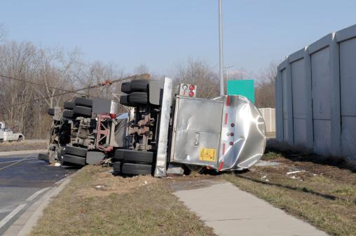 Insurance「Over Turned Tanker Truck」:スマホ壁紙(5)