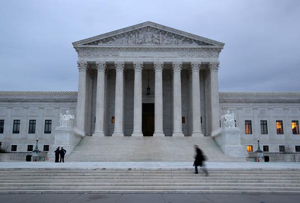 US Supreme Court Building「President Trump To Name His Pick For Supreme Court Justice Opening In Primetime Address」:写真・画像(1)[壁紙.com]