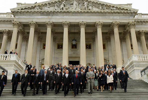 US Republican Party「Congressional GOP Leaders Hold Press Conference On Obama Budget Proposal」:写真・画像(5)[壁紙.com]