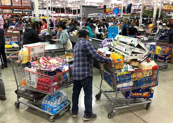 Costco Wholesale Corporation「Coronavirus Pandemic Causes Climate Of Anxiety And Changing Routines In America」:写真・画像(7)[壁紙.com]