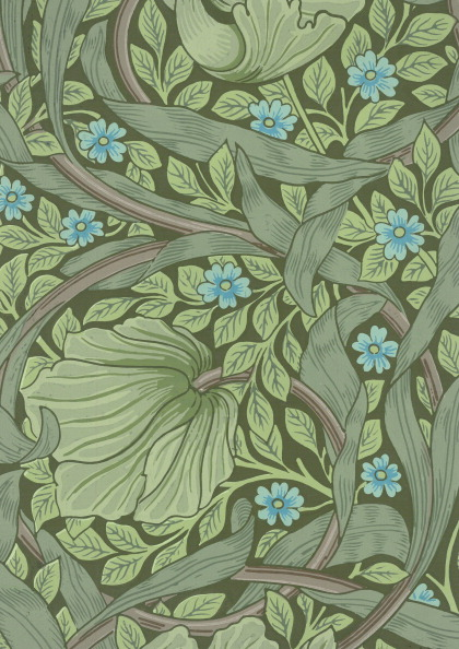 Pattern「Wallpaper With Forget-Me-Nots」:写真・画像(8)[壁紙.com]