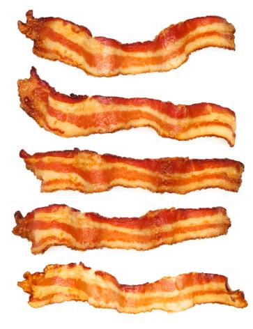 Bacon「Five Bacon Slices」:スマホ壁紙(3)