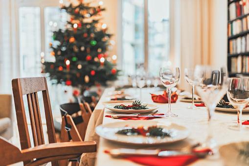 Celebration「christmas dining table」:スマホ壁紙(7)