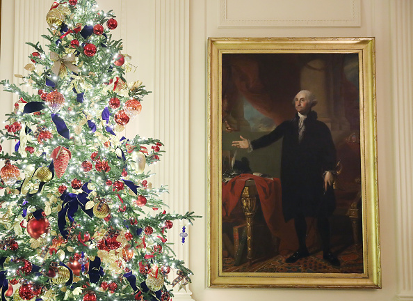 Tree「The White House Previews Decor For The Holiday Season」:写真・画像(11)[壁紙.com]