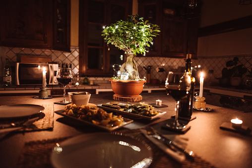 Party - Social Event「christmas dinner at home」:スマホ壁紙(0)