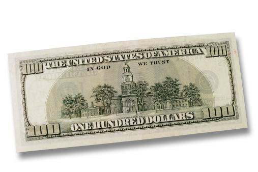 American One Hundred Dollar Bill「One hundred Dollars」:スマホ壁紙(4)