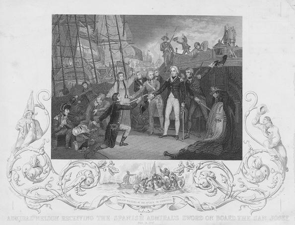 Surrendering「The Battle of Cape St Vincent」:写真・画像(2)[壁紙.com]