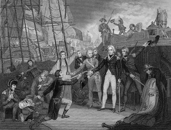 Surrendering「The Battle of Cape St Vincent」:写真・画像(3)[壁紙.com]
