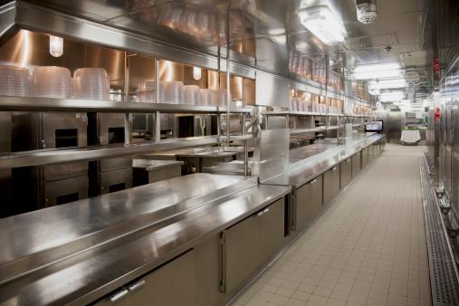 Steel「Large commercial kitchen」:スマホ壁紙(19)