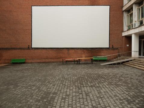 Projection Equipment「White screen outdoors」:スマホ壁紙(12)