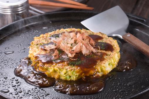 Savory Food「Okonomiyaki」:スマホ壁紙(0)