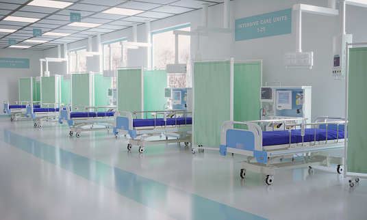 Protective Face Mask「Intensive Care Unit In The Hospital」:スマホ壁紙(18)